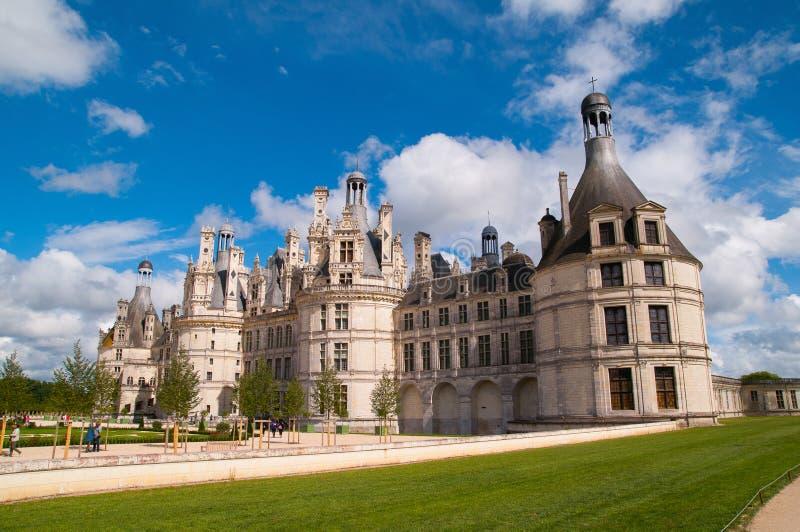 Castello di Chaumont immagine stock libera da diritti