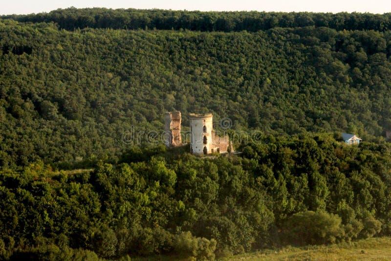 Castello di Chervonohrad immagini stock
