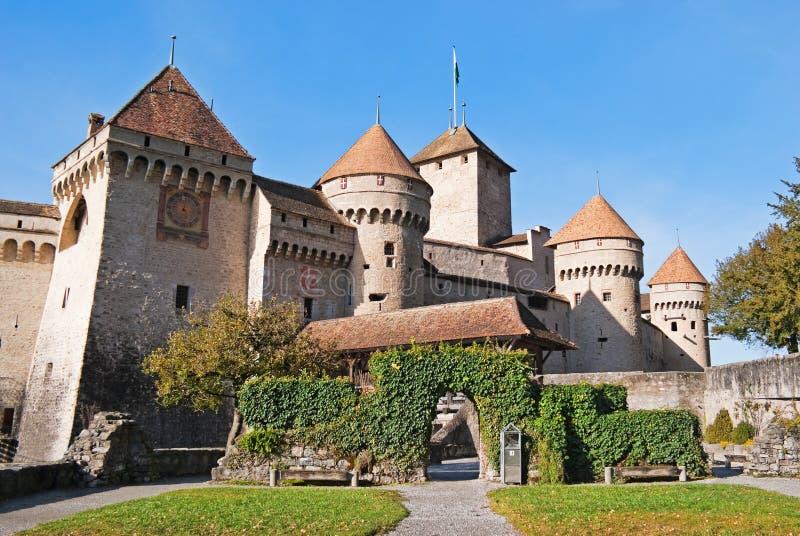 Castello di Chillon immagini stock