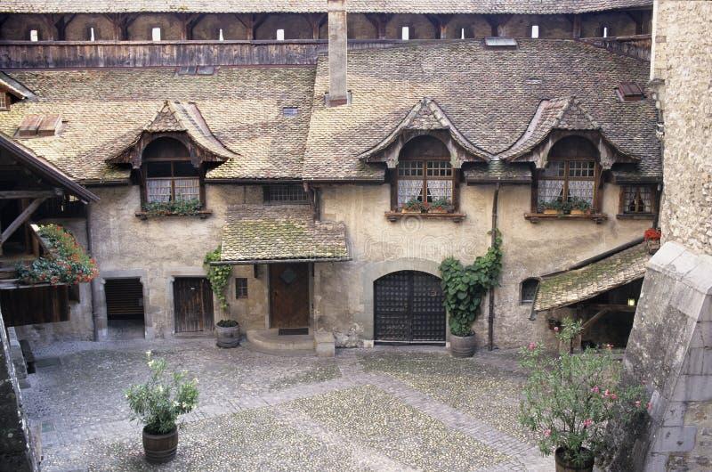 Castello di Chillon fotografia stock libera da diritti