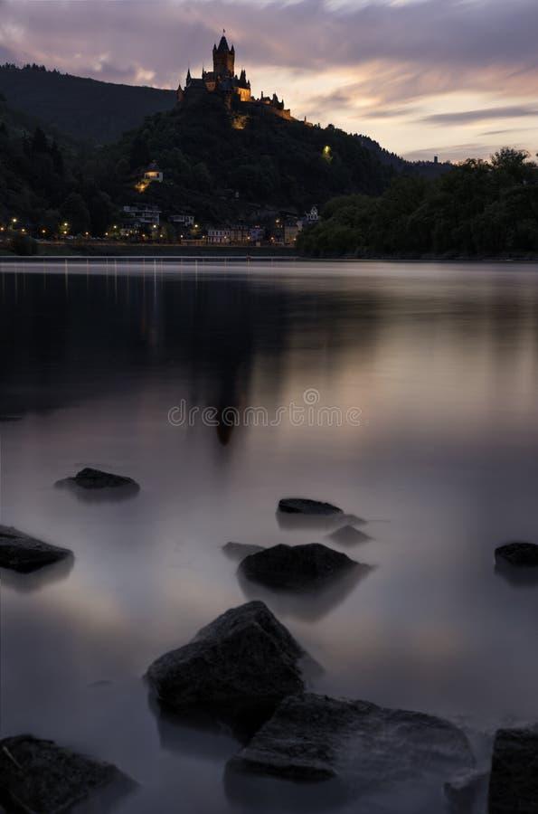 Castello di Cochem fotografia stock libera da diritti