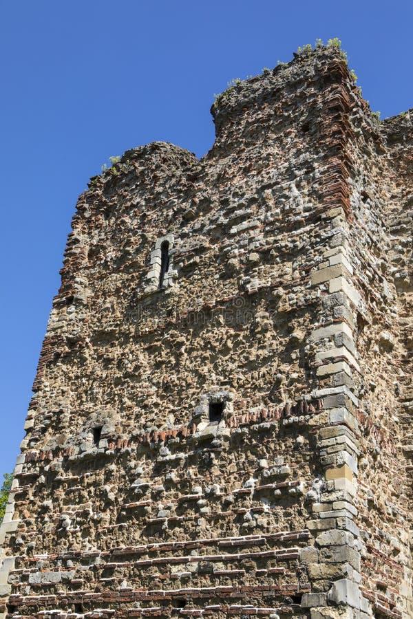 Castello di Colchester in Essex immagine stock