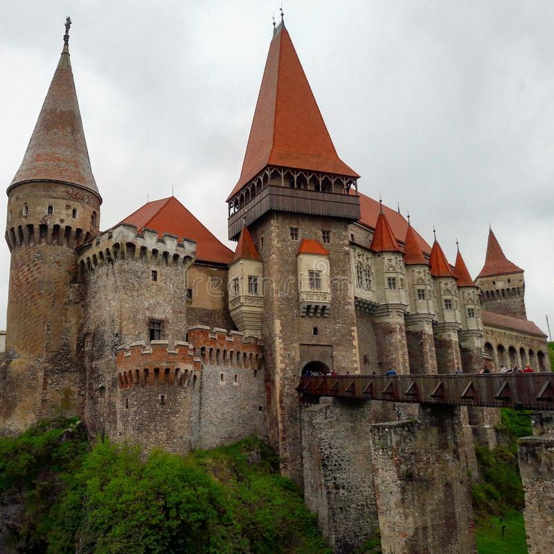 Castello di Corvin fotografia stock libera da diritti