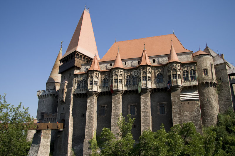 Castello di Corvinesti immagine stock libera da diritti