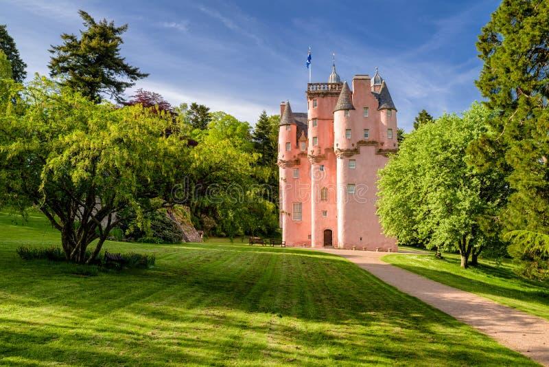 Castello di Craigievar in Scozia immagini stock libere da diritti