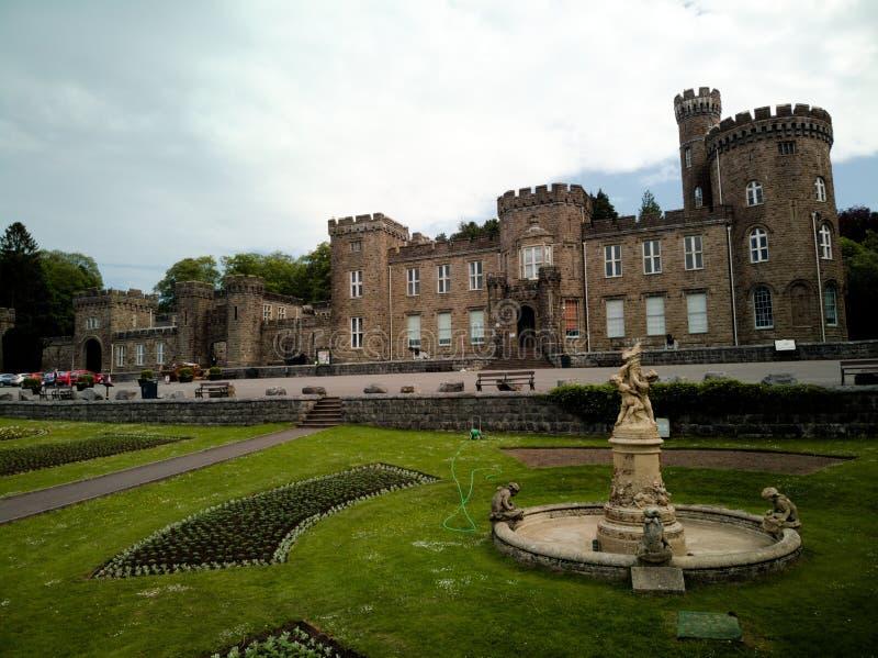 Castello di Cyfarthfa immagine stock libera da diritti