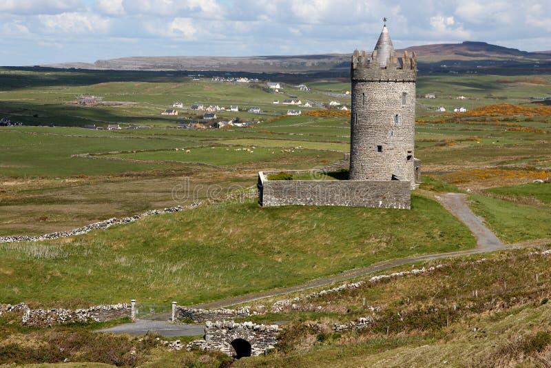 Castello di Doonagore fotografie stock libere da diritti