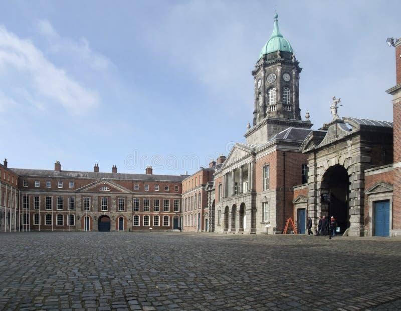 Castello di Dublino fotografie stock