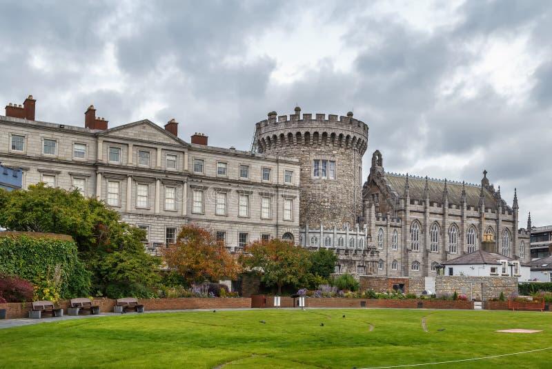 Castello di Dublino, Irlanda fotografia stock libera da diritti