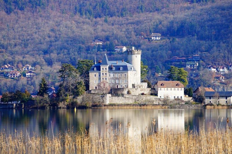 Castello di Duingt immagine stock