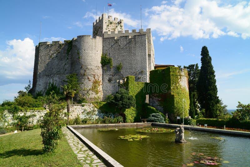 Castello di Duino - Duino, Italy royalty free stock photo