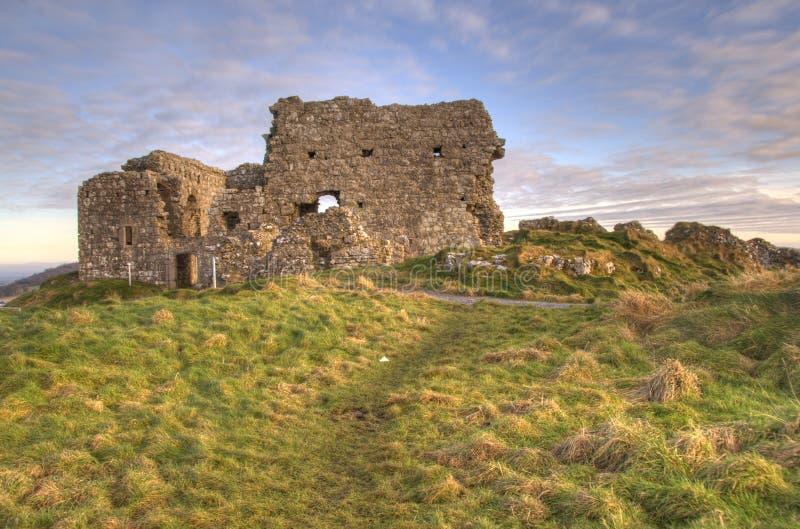 Castello di Dunamase, Portlaoise, Irlanda fotografia stock libera da diritti