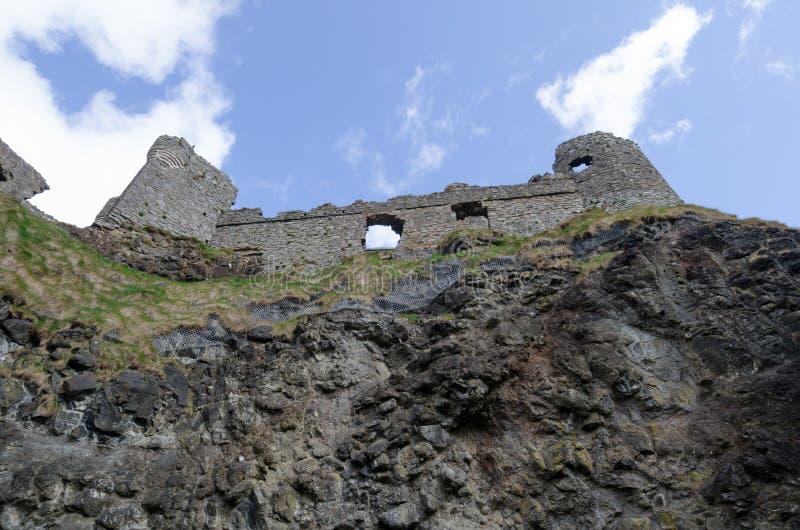 Castello di Dunluce, Irlanda del Nord fotografie stock libere da diritti