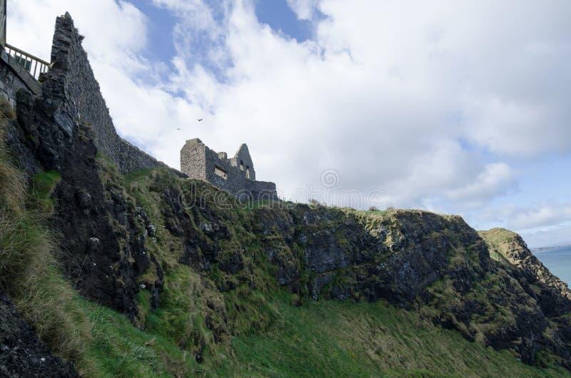 Castello di Dunluce, Irlanda del Nord fotografia stock libera da diritti