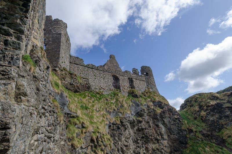Castello di Dunluce, Irlanda del Nord immagine stock