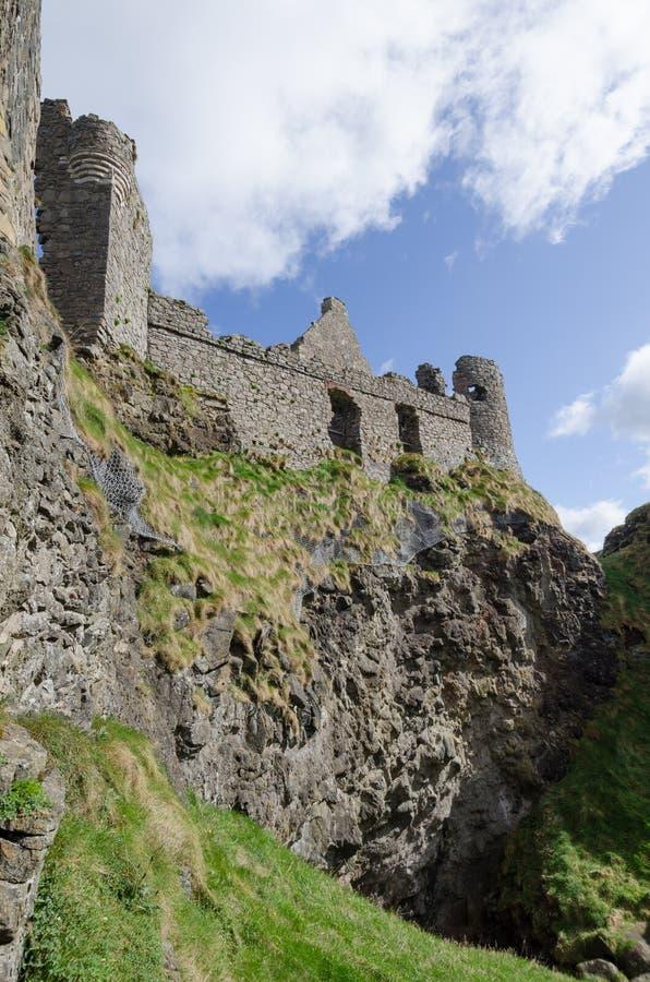 Castello di Dunluce, Irlanda del Nord immagine stock libera da diritti