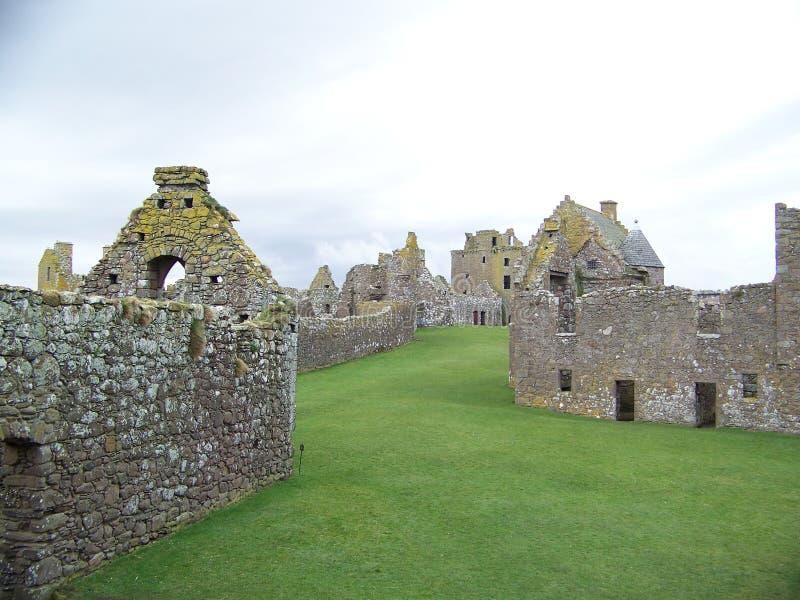 Castello di Dunnottar in Scozia fotografia stock libera da diritti