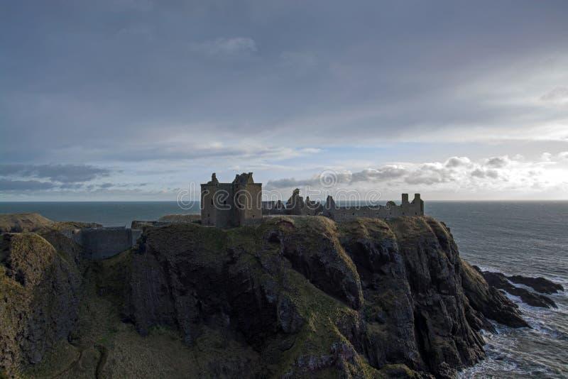 Castello di Dunnottar, Scozia fotografie stock libere da diritti