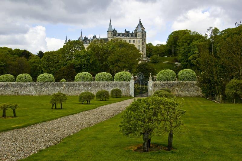 Castello di Dunrobin, fotografia stock libera da diritti