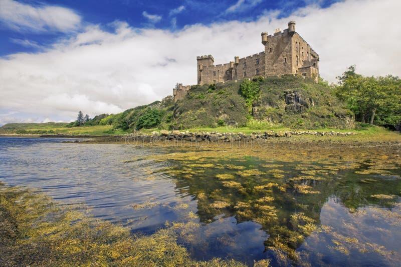Castello di Dunvegan sull'isola di Skye, Scozia immagine stock libera da diritti