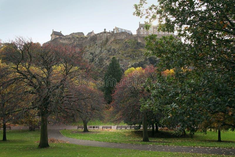 Castello di Edimburgo immagini stock libere da diritti