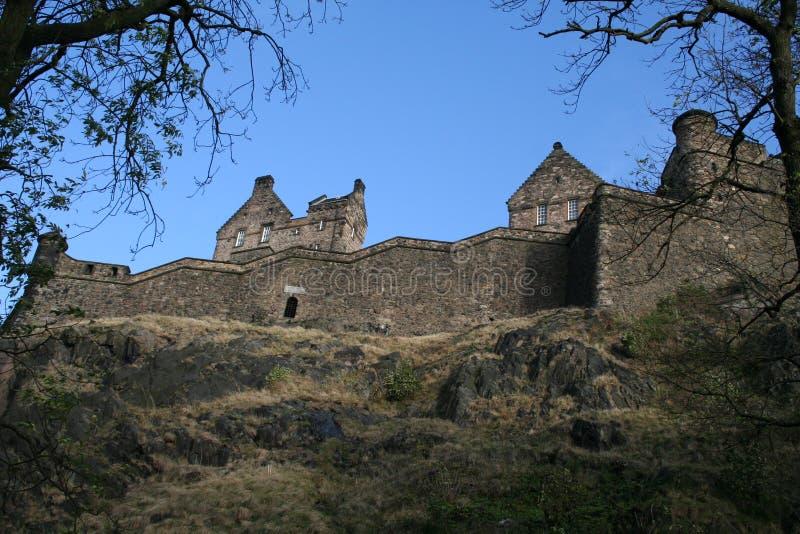 Castello di Edinburgh fotografia stock