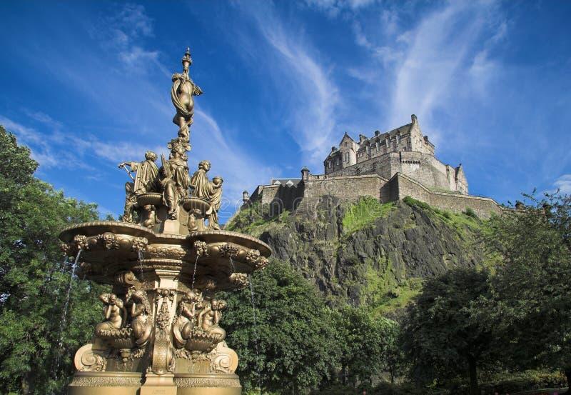 Castello di Edinburgh immagine stock