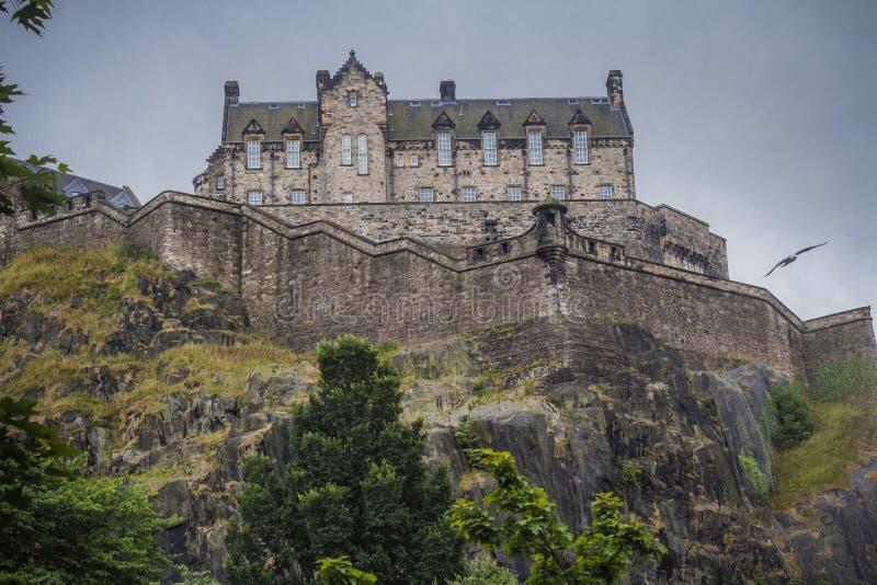 Castello di Edinburgh, Scozia fotografie stock