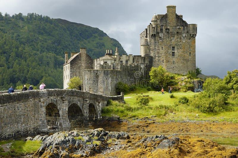 Castello di Eilean Donan fotografia stock libera da diritti