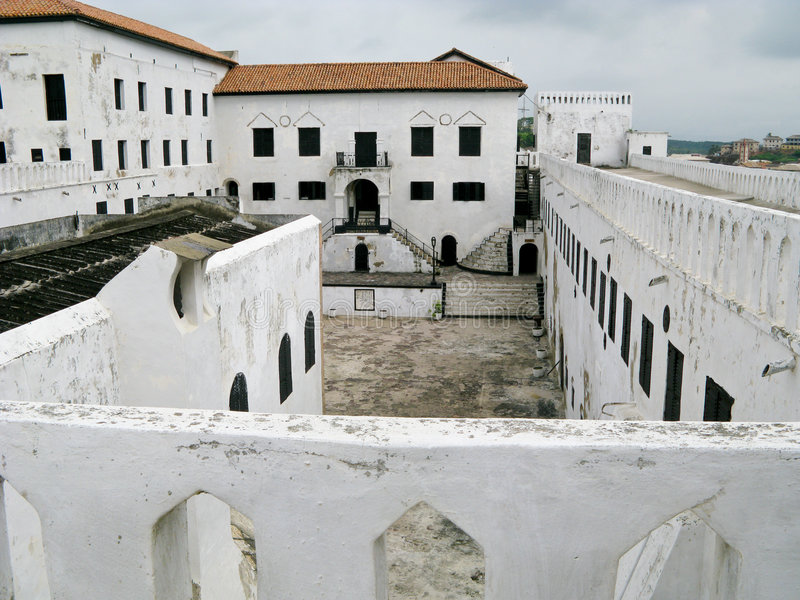 Castello di Elmina immagine stock libera da diritti