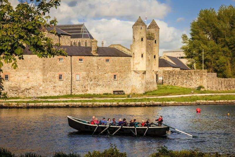 Castello di Enniskillen contea Fermanagh L'Irlanda del Nord fotografie stock libere da diritti