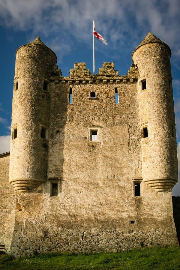 Castello di Enniskillen contea Fermanagh L'Irlanda del Nord immagini stock libere da diritti