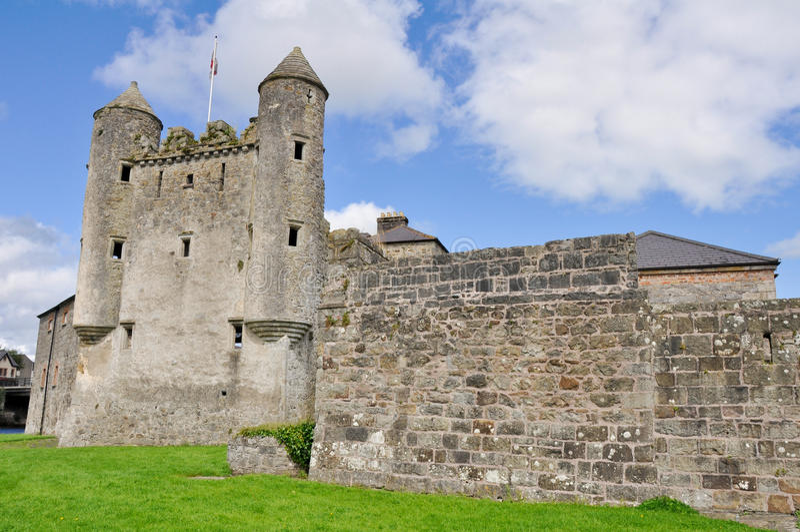 Castello di Enniskillen, Irlanda del Nord fotografie stock libere da diritti