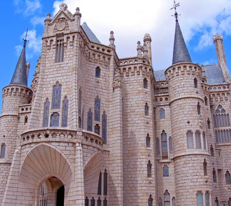 Castello di favola fotografie stock