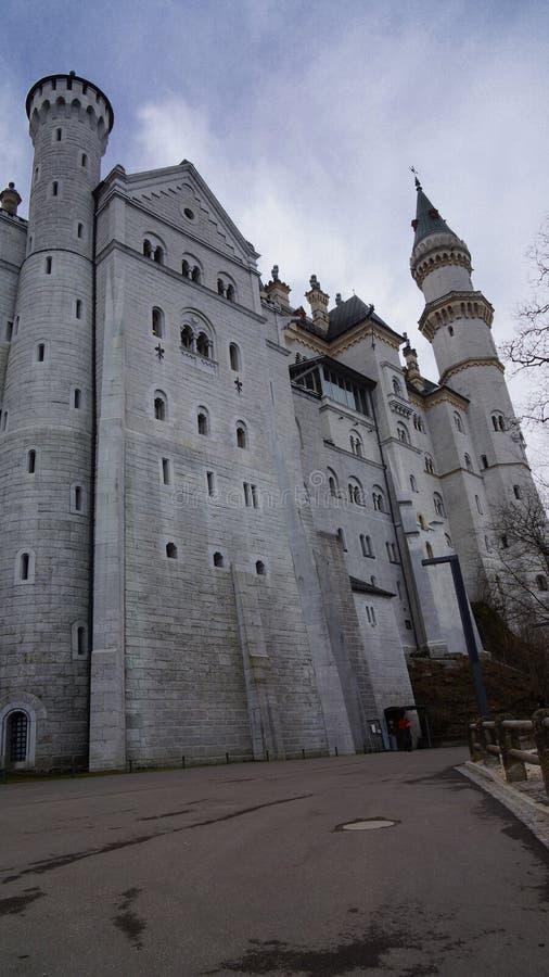 Castello di favola della Baviera fotografia stock libera da diritti