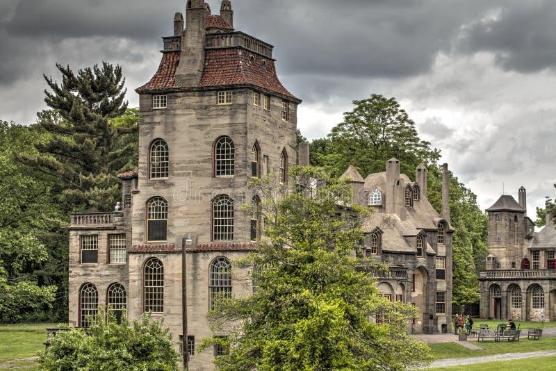 Castello di Fonthill fotografie stock libere da diritti