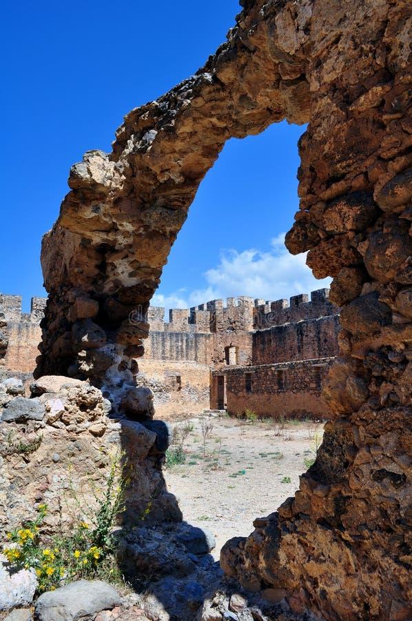 Castello di Frangocastello. fotografie stock libere da diritti