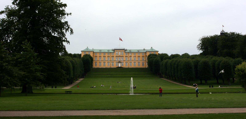 Castello di Frederiksberg fotografie stock libere da diritti