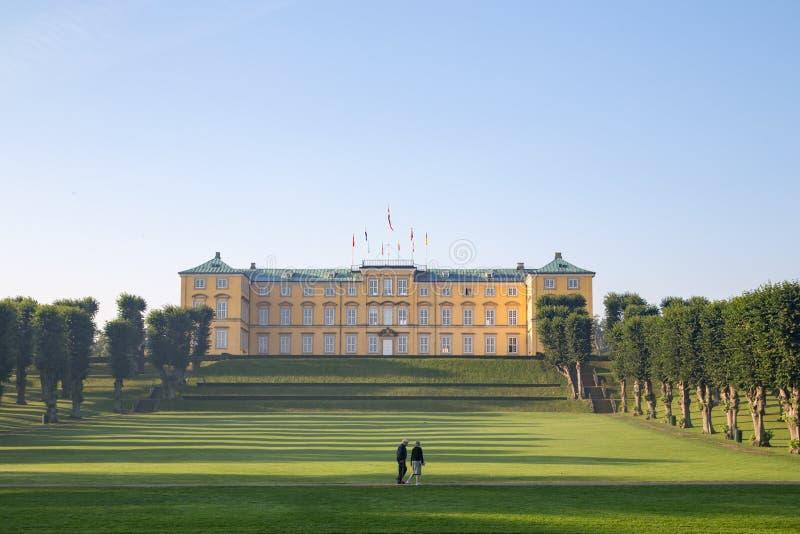 Castello di Frederiksberg a Copenhaghen fotografia stock