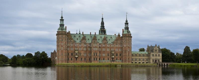Castello di Frederiksborg immagini stock