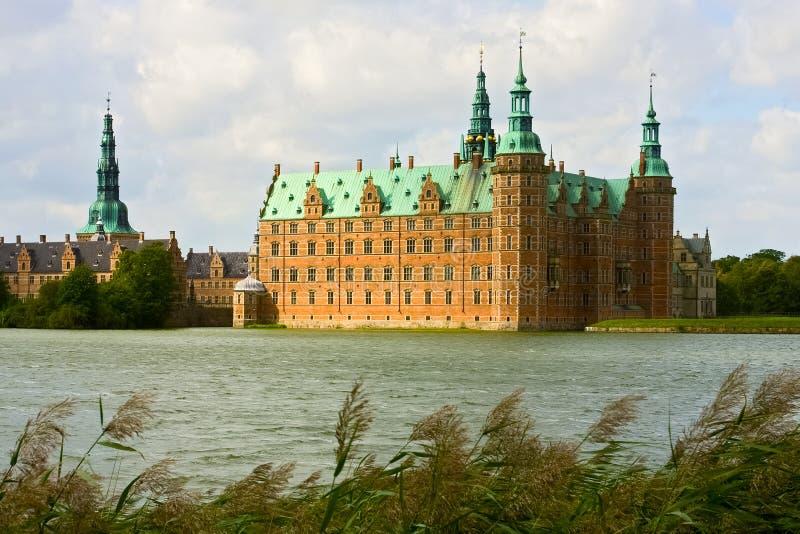 Castello di Frederiksborg in Danimarca fotografia stock
