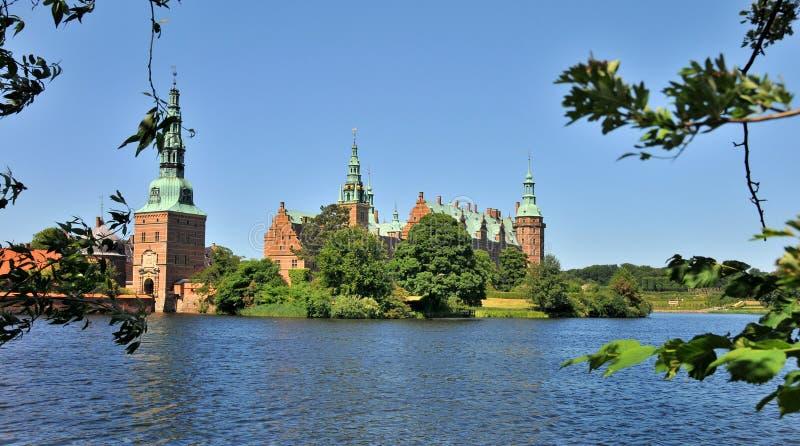 Castello di Frederiksborg, Danimarca fotografia stock