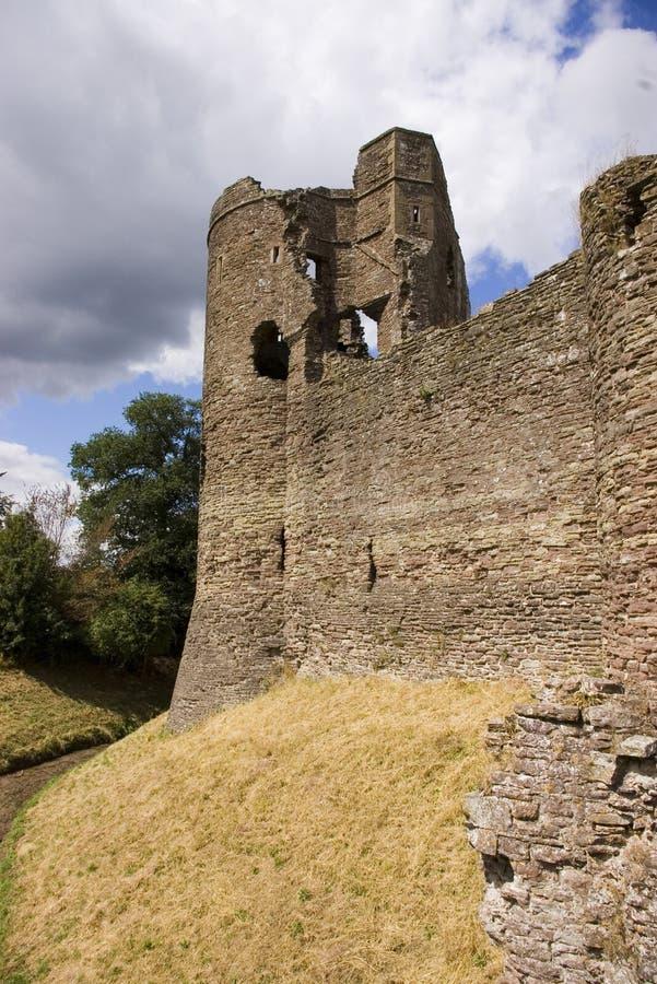 Castello di Grosmont immagini stock