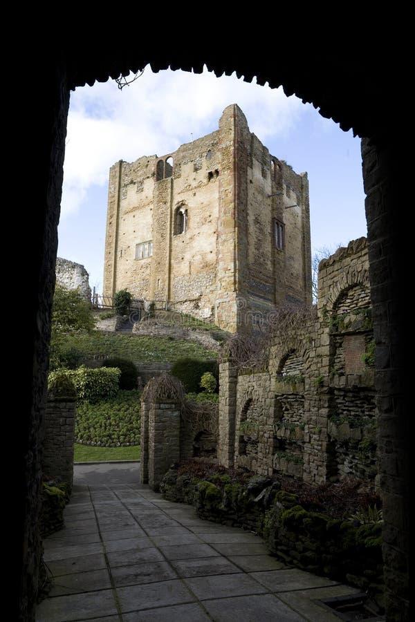 Castello di Guildford fotografie stock
