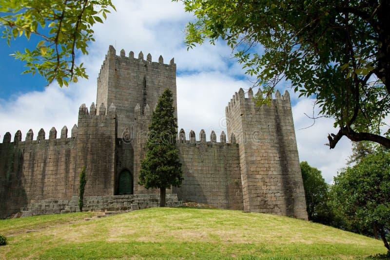 Castello di Guimaraes immagine stock libera da diritti