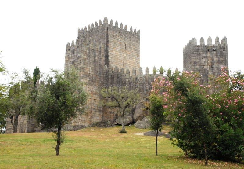 Castello di Guimaraes fotografia stock libera da diritti