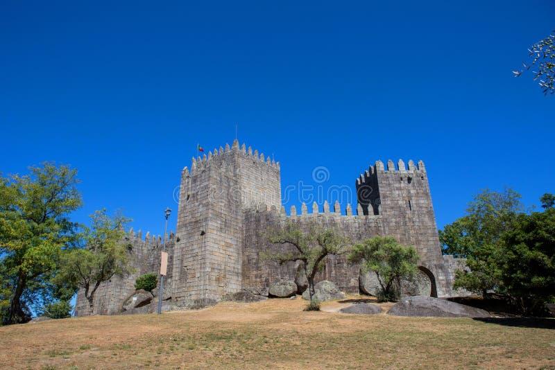 Castello di Guimaraes immagine stock