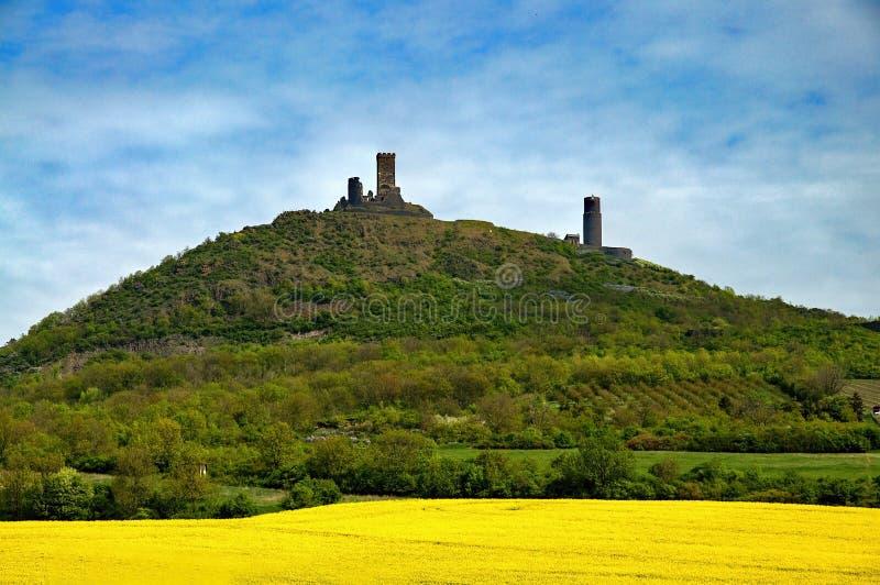 Castello di Hazmburk fotografia stock libera da diritti
