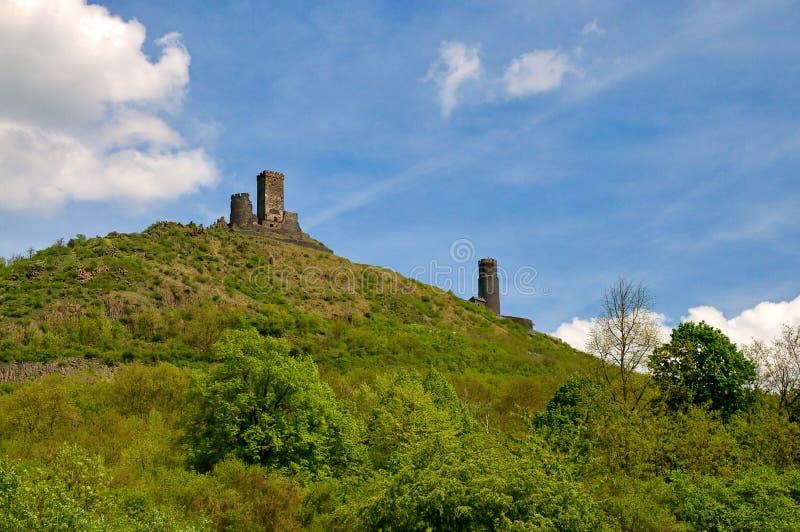 Castello di Hazmburk immagini stock libere da diritti