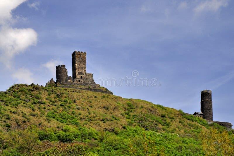 Castello di Hazmburk fotografie stock libere da diritti